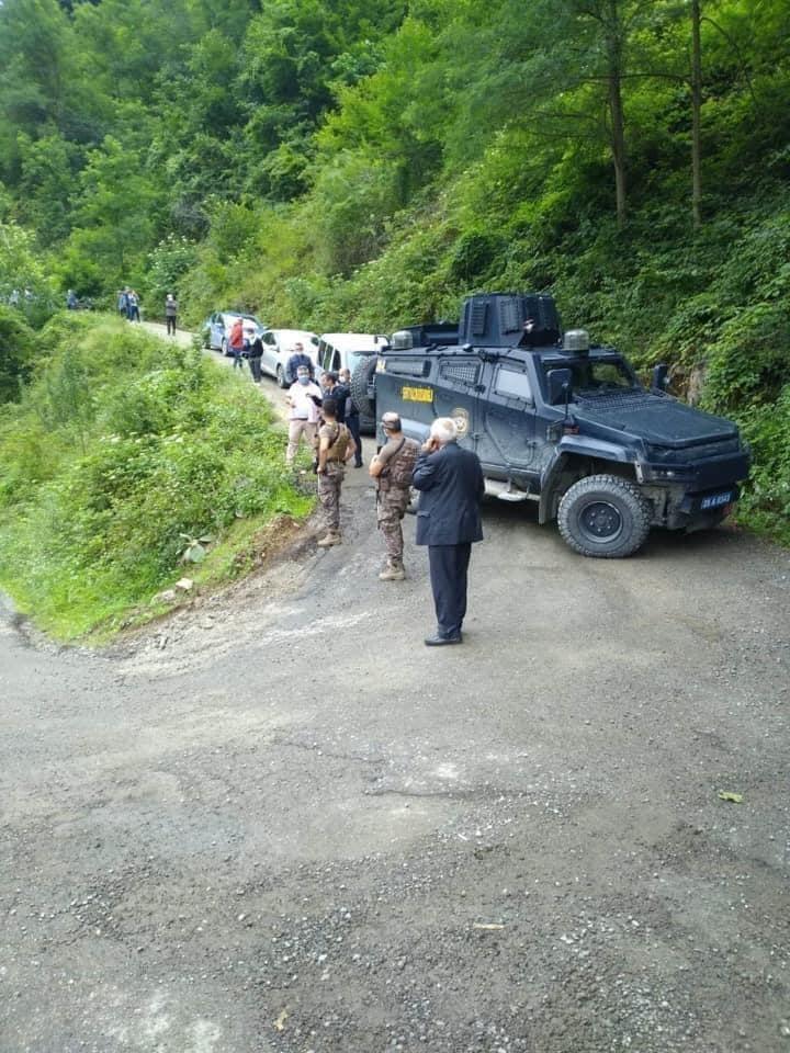 Dereli Bahçeli Köyü Karantinaya Alındı