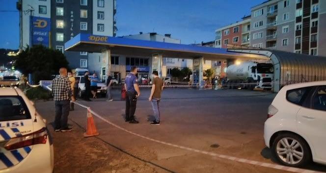 Giresun'da Benzinlikte Sızıntı Korkuttu