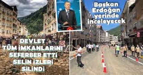 Erdoğan Dereli'de Canlı Yayın