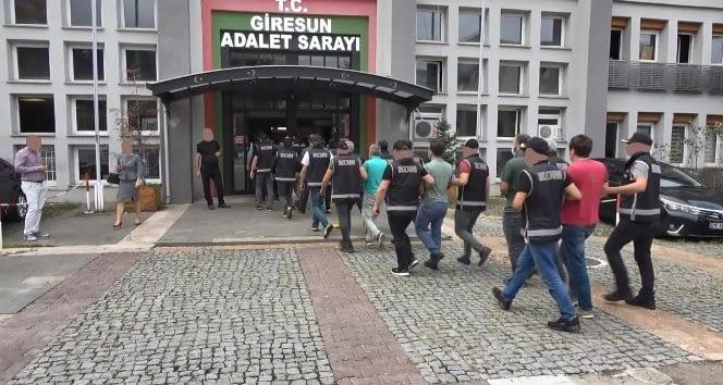 Dereli'de Yıkım Ekibine Saldıranlar Tutuklandı
