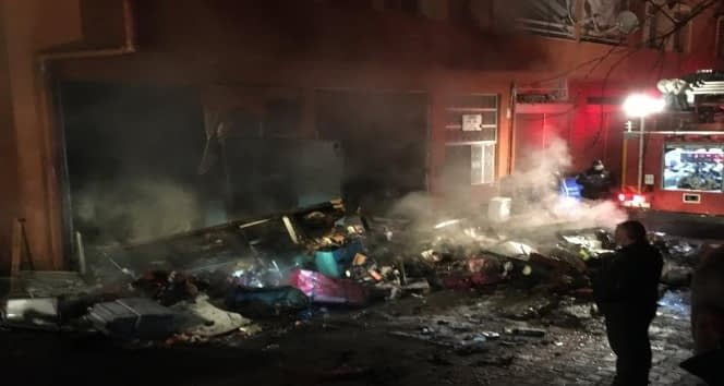 Piraziz'de Yangın Dehşeti