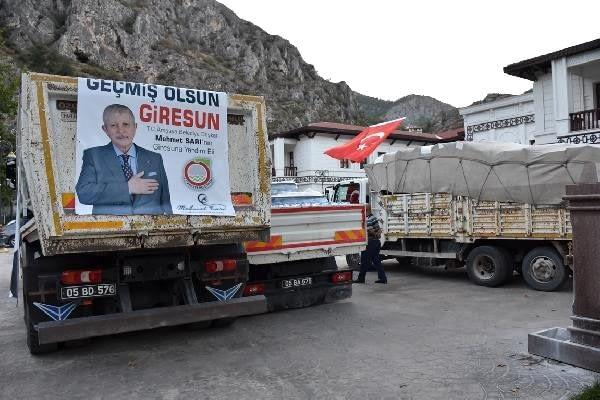 Amasya'da Giresun'u Unutmadı