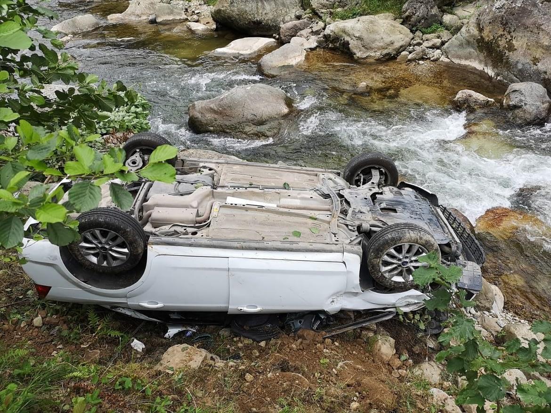 Espiye'de Trafik Kazası